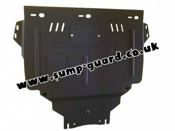 Steel sump guard for Ford Kuga
