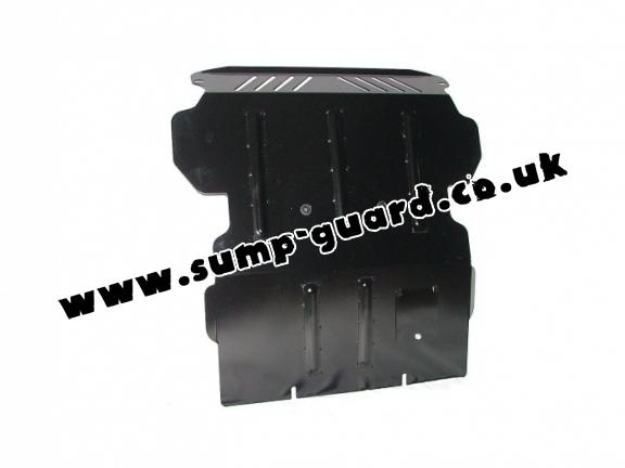 Steel sump guard for Hyundai Terracan