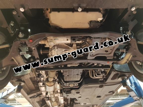 Steel sump guard for Mercedes Viano W447, 2.2 D, 4x4