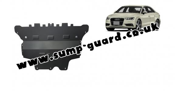 Steel sump guard for Audi A3 (8V)