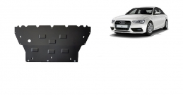 Steel sump guard for Audi A4  B9