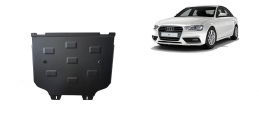 Steel gearbox guard for Audi A4 B9