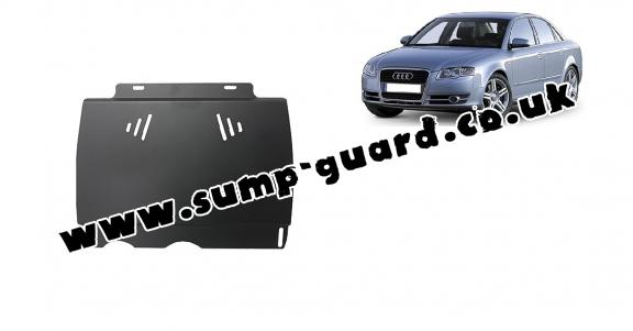Steel manual gearbox guard  Audi A4  B7