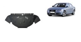 Steel sump guard for Audi A4  B7