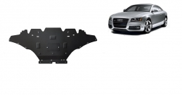 Steel sump guard for Audi A5, diesel