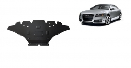 Steel sump guard for Audi A5, petrol
