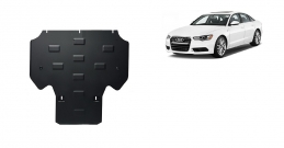 Steel gearbox guard for Audi A6