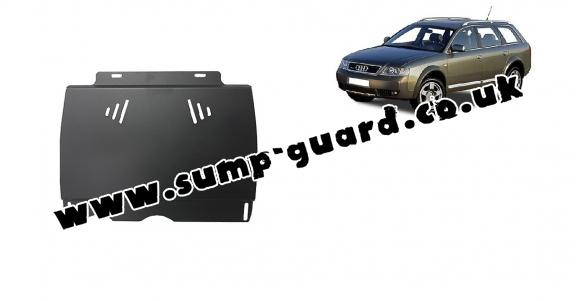 Steel manual gearbox guard  Audi Allroad