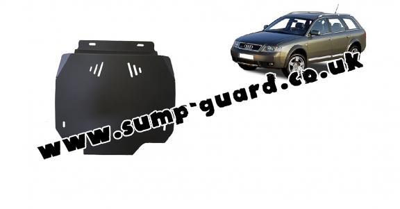 Steel automatic gearbox guard forAudi Allroad