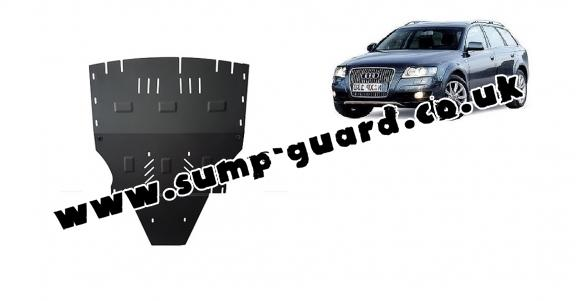 Steel sump guard for Audi Allroad 2 - sans latéraux