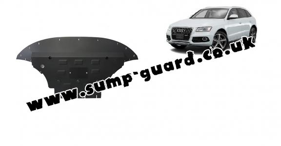Steel sump guard for Audi Q5