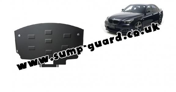 Steel sump guard for BMW Seria 5 E60/E61 pare-choc normale M