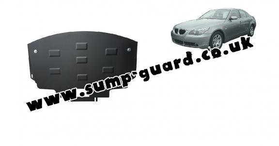 Steel sump guard for BMW Seria 5 E60/E61 pare-choc normale