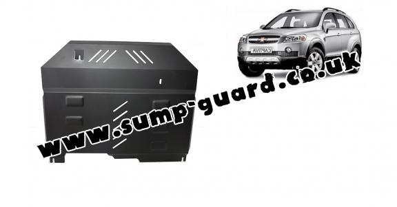 Steel sump guard for Chevrolet Captiva