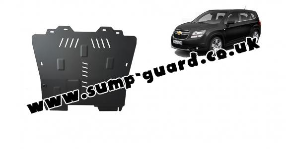 Steel sump guard for Chevrolet Orlando