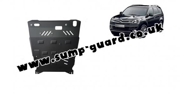 Steel sump guard for Citroen C - Crosser
