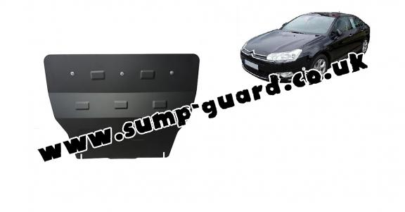 Steel sump guard for citroen C5