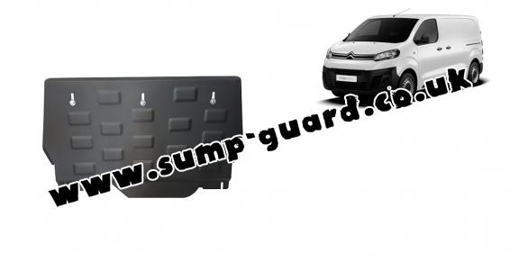 Steel sump guard for Citroen Jumpy Panel Van