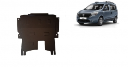 Steel sump guard for Dacia Dokker