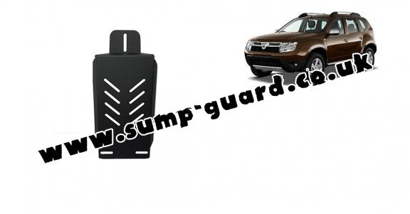 Aluminum diferential guard for Dacia Duster 4x4