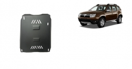 Aluminum fuel tank guard  for Dacia Duster