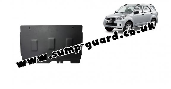 Steel gearbox guard for Daihatsu Terios
