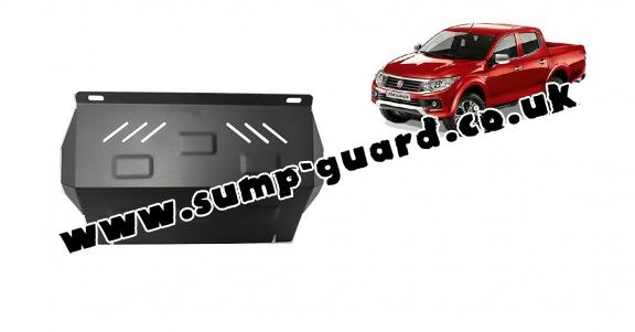Steel radiator guard for Fiat Fullback