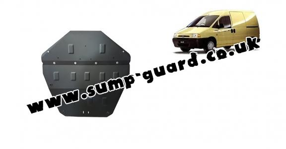Steel sump guard for Fiat Scudo