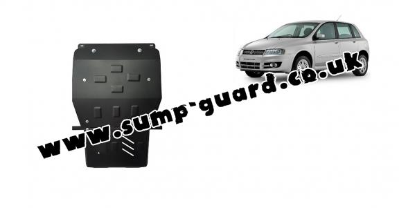 Steel sump guard for Fiat Stilo