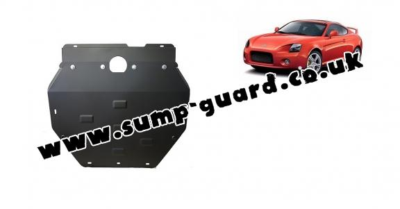 Steel sump guard for Hyundai Coupé Gk