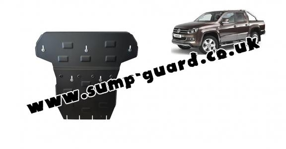 Steel sump guard for Volkswagen Amarok
