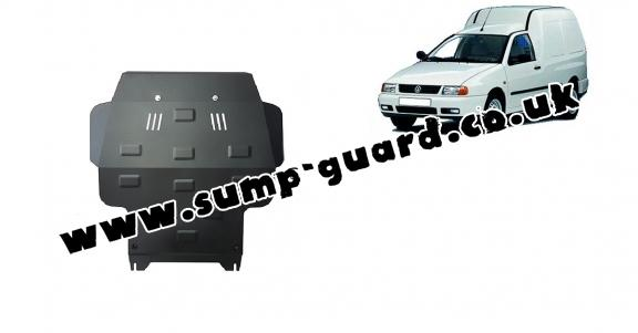 Steel sump guard for Volkswagen Caddy