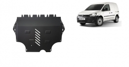 Steel sump guard for VW Caddy