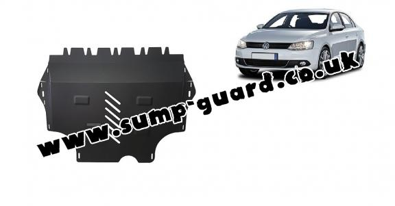 Steel sump guard for Volkswagen VW Jetta