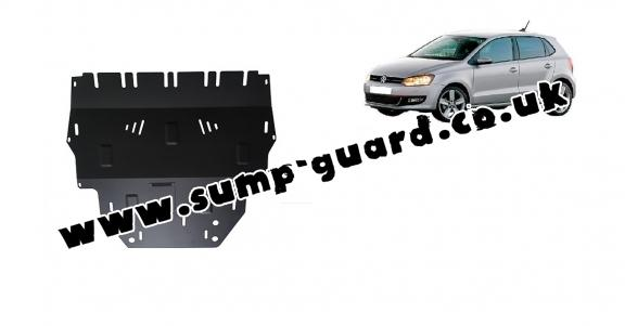 Steel sump guard for Vw Polo (6R)