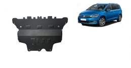 Steel sump guard for VW Touran - manual gearbox