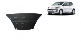 Steel sump guard for the protection of the engine and the gearbox for VW Up