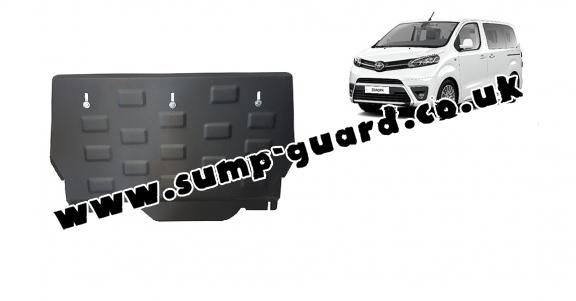 Steel sump guard for Toyota Proace Panel Van