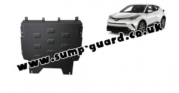 Steel sump guard for Toyota C-HR