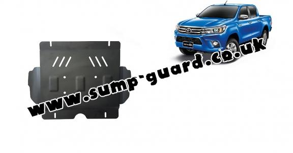 Steel sump guard for Toyota Hilux Revo