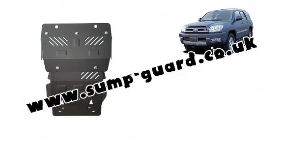 Steel sump guard for Toyota 4Runner