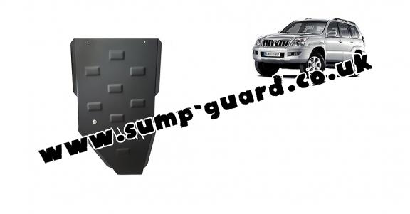 Steel gearbox guard for Toyota Land Cruiser J120