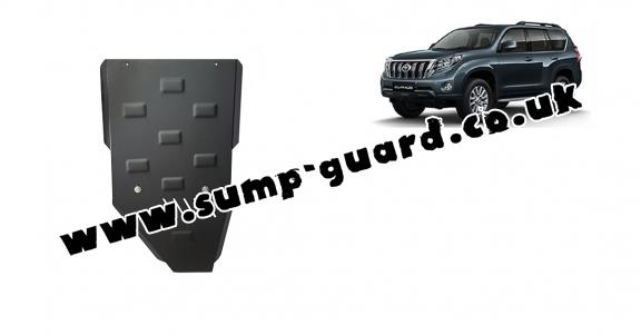 Steel gearbox guard for Toyota Land Cruiser 150
