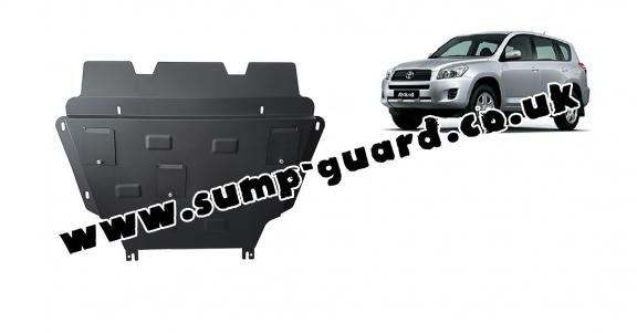 Steel sump guard for Toyota RAV 4 diesel