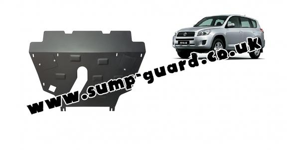 Steel sump guard for Toyota RAV 4 petrol
