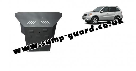 Steel sump guard for Toyota Rav4