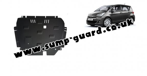 Steel sump guard for Toyota Verso