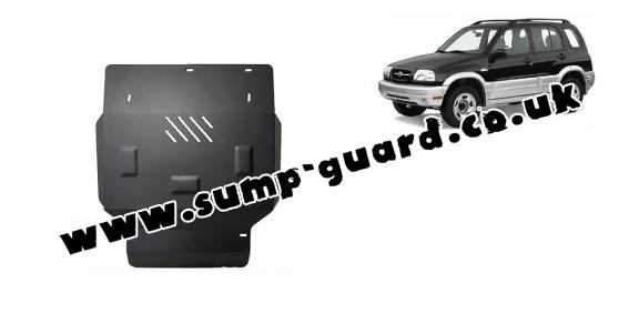 Steel sump guard for Suzuki Grand Vitara