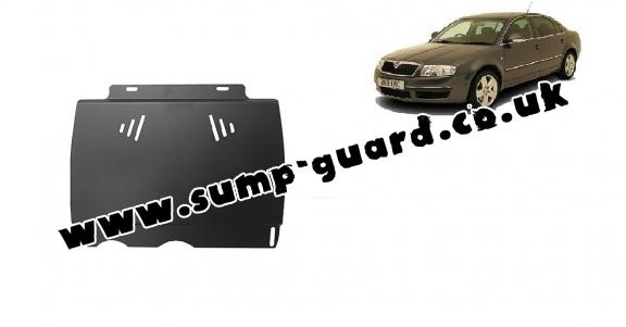 Steel manual gearbox guard  Skoda Superb