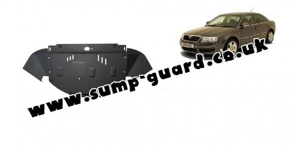 Steel sump guard for Skoda Superb - 1,8  1,9 TDI